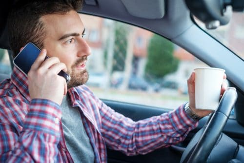 Being Able to Spot a Distracted Driver Could Save Your Life