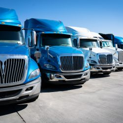 Learn About the 4 Areas of a Commercial Truck You Should Never Drive Near