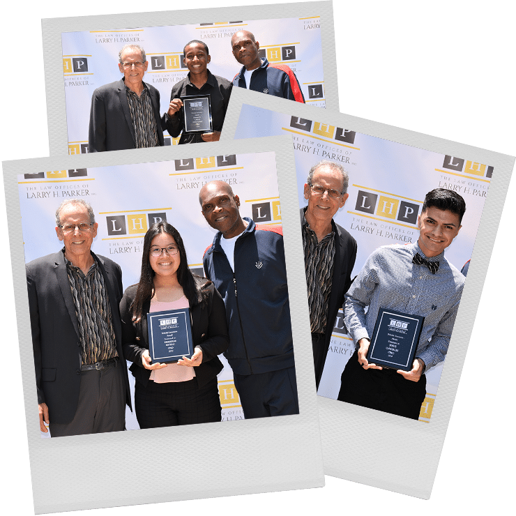 Annual Larry H. Parker Scholar Incentive Award Recipients