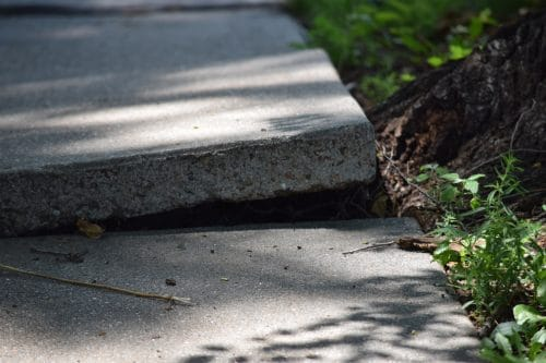 The City May Be Held Responsible if You Trip on a City Sidewalk