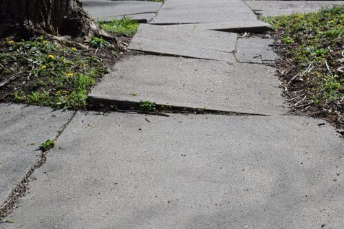 Who Can Be Found At-Fault if You Trip on an Uneven Sidewalk?