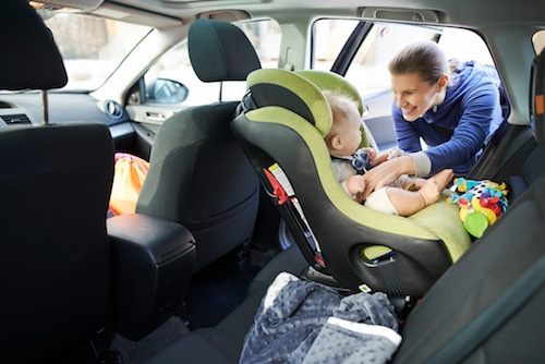 Defective Car Seats Can Cause Serious Injury to Children in California