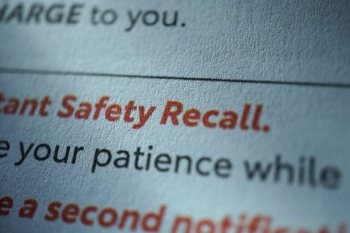 How Does a Product Recall Impact My Car Wreck Case?